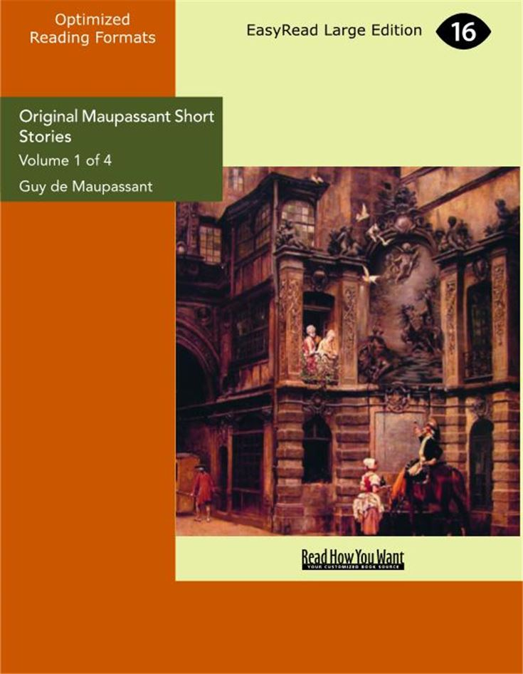 Original Maupassant Short Stories