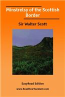 Cover Image: Minstrelsy of the Scottish Border (Large Print)