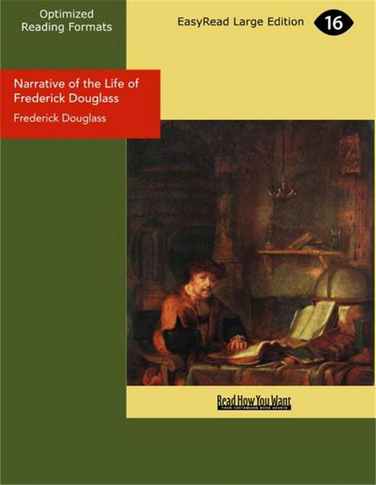 Narrative of the Life of Frederick Douglass(Large Print)