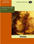 Cover Image: The Beast in the Jungle (Large Print)