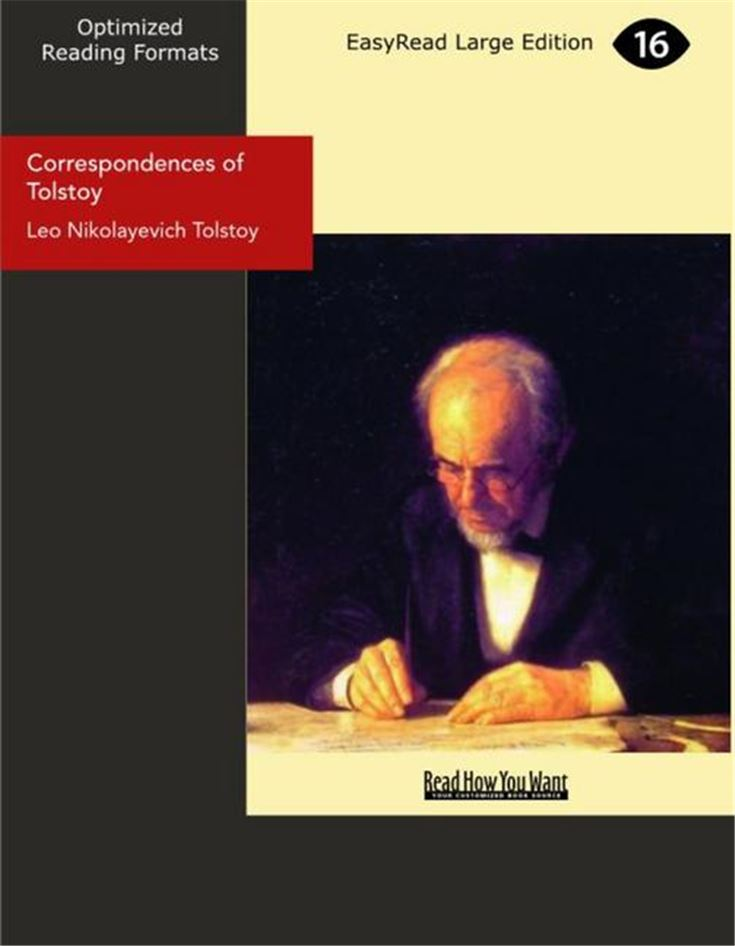 Correspondences of Tolstoy