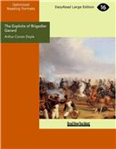 Cover Image: The Exploits of Brigadier Gerard (Large Print)