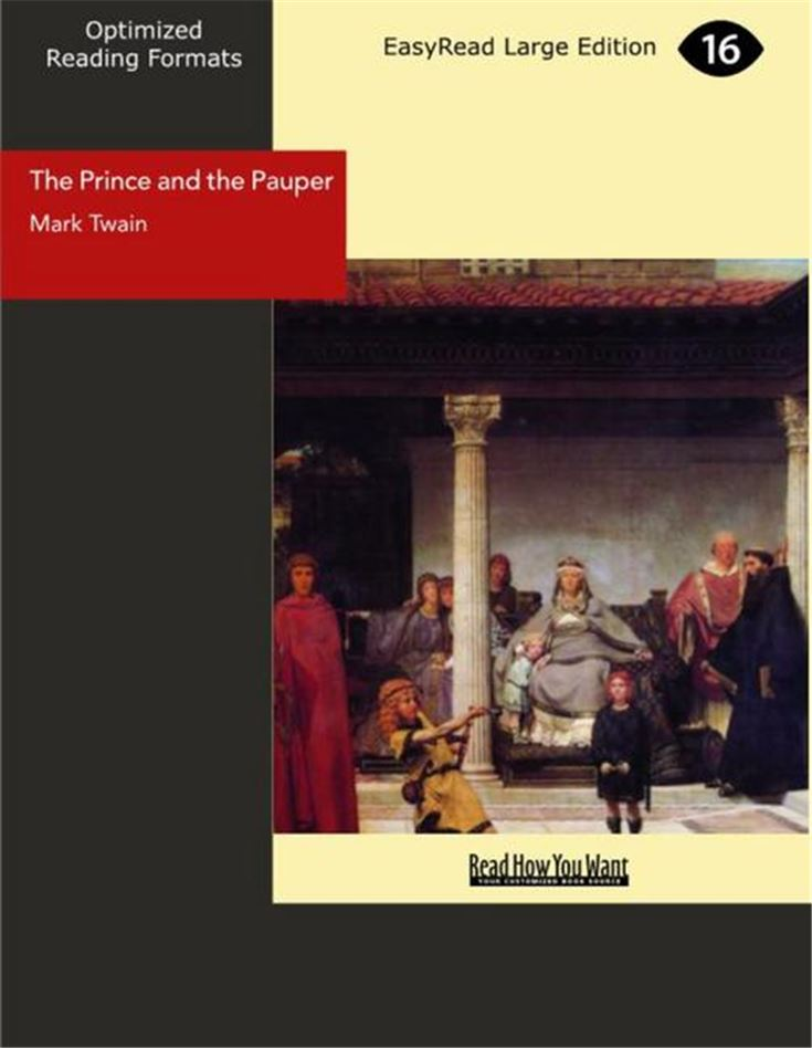The Prince and the Pauper(Large Print)