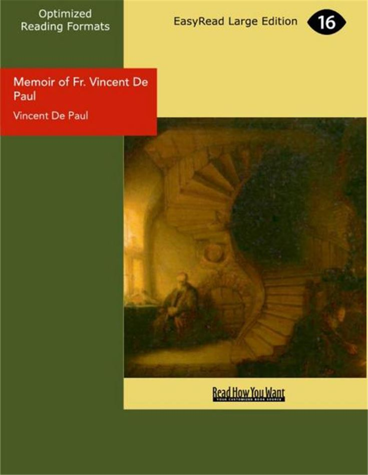 Memoir of Fr. Vincent De Paul