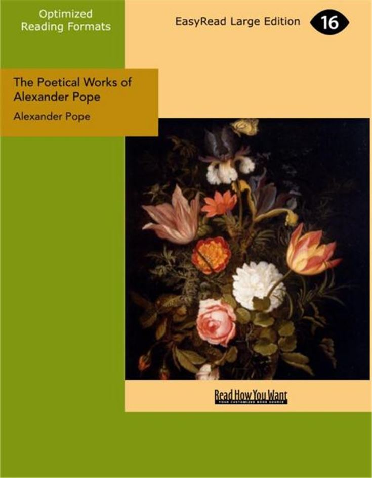 The Poetical Works of Alexander Pope, Volume I