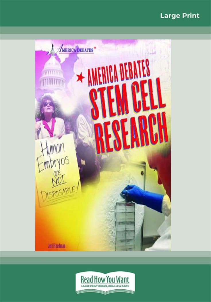 America Debates-Stem Cell Research