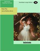 Cover Image: Peter Pan (Large Print)