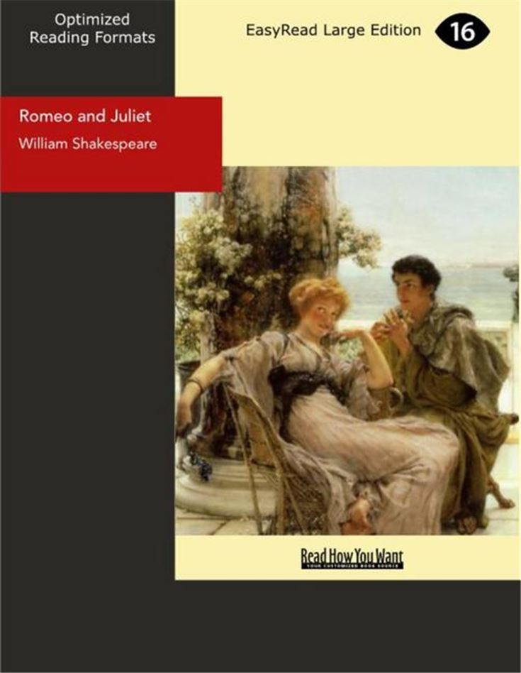 Romeo and Juliet(Large Print)