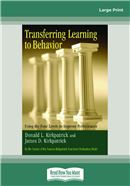 Cover Image: Transferring Learning To Behavior (Large Print)