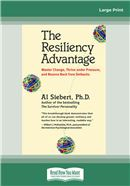Cover Image: The Resiliency Advantage (Large Print)