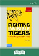 Cover Image: Fighting Invisible Tigers (Large Print)