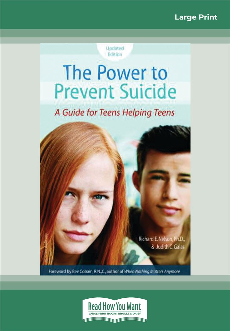 The Power to Prevent Suicide