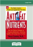 Cover Image: Anti-Fat Nutrients (Large Print)