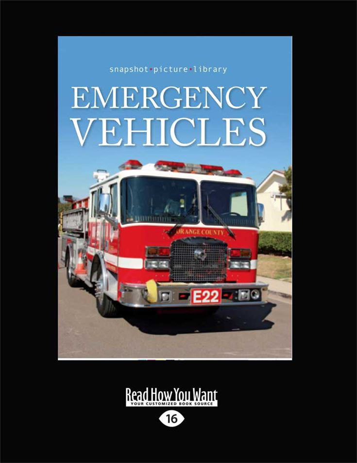 Snapshot Picture Library: Emergency Vehicles