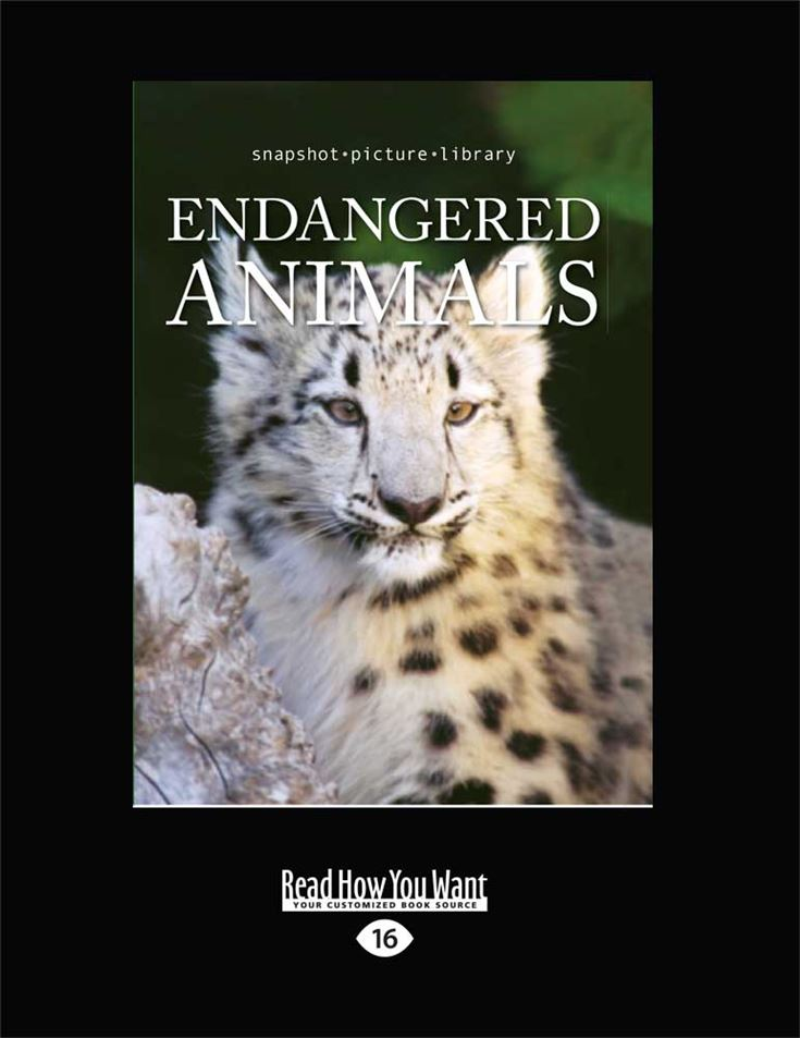 Snapshot Picture Library: Endangered Animals
