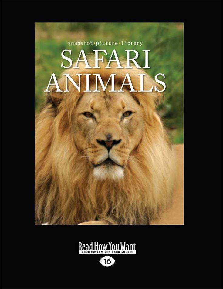Snapshot Picture Library: Safari Animals