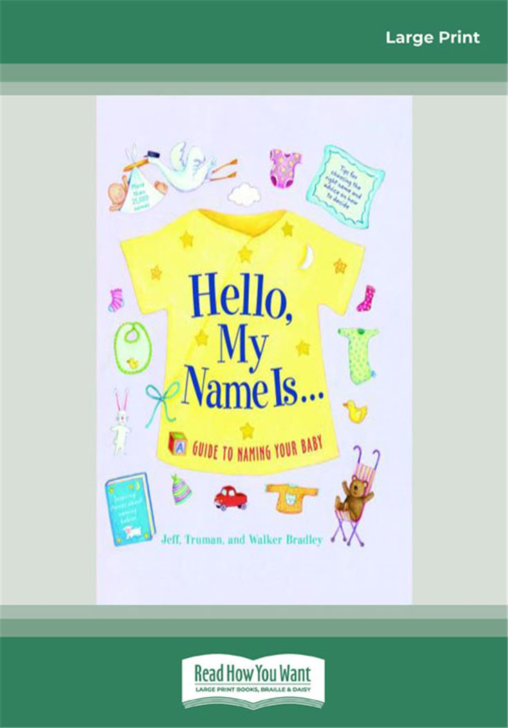 Hello, My Name Is. . .