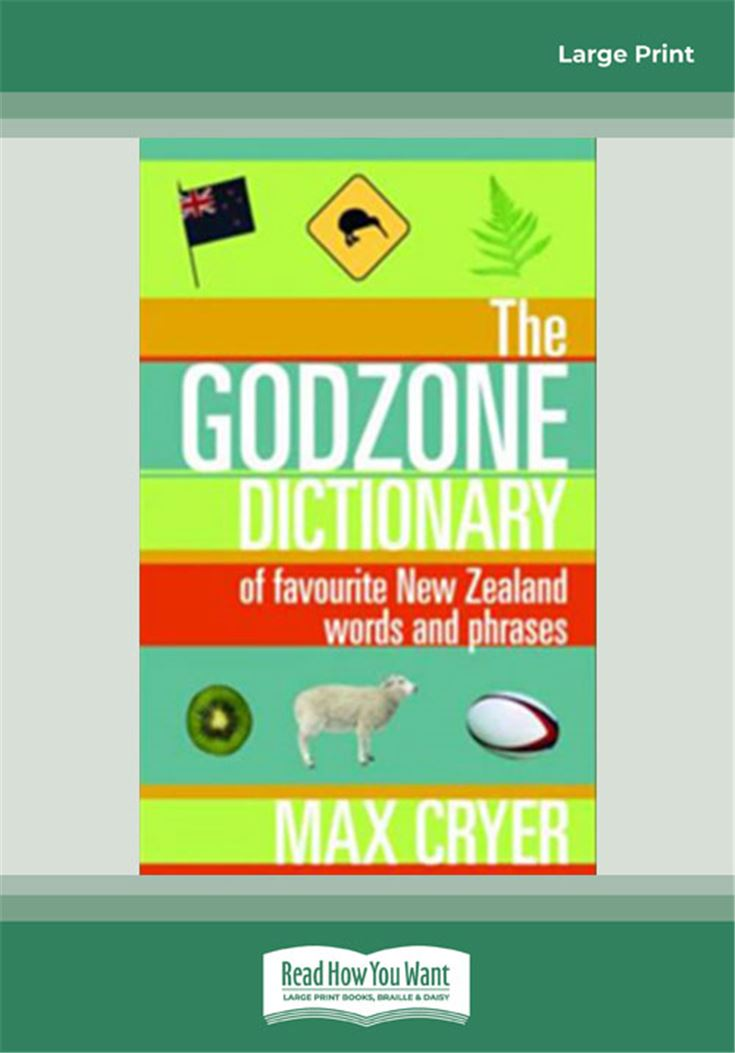 The Godzone Dictionary