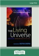 Cover Image: The Living Universe (Large Print)