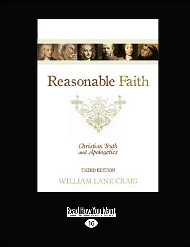 Reasonable Faith (Third Edition)