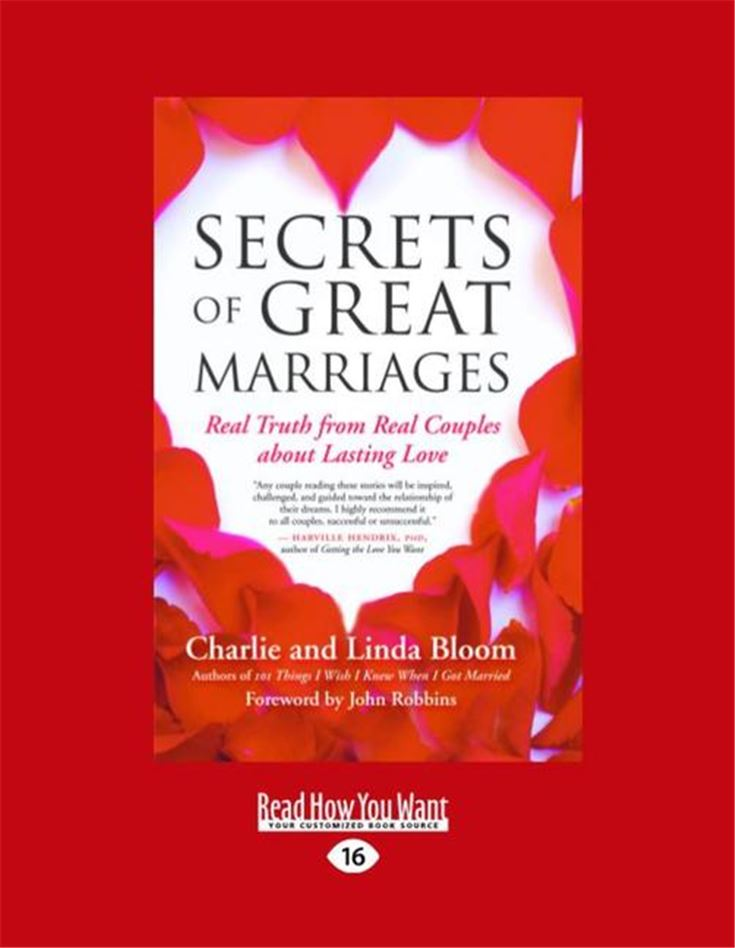 The Secrets of Great Marriages