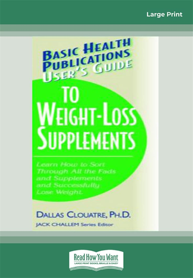 User's Guide to Weight-Loss Supplements