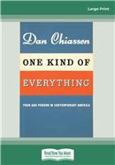 Cover Image: One Kind of Everything (Large Print)