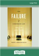 Cover Image: The Failure of Corporate Law (Large Print)