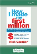 Cover Image: How I Made My First Million (Large Print)