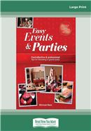 Cover Image: Easy Events and Parties (Large Print)