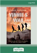 Cover Image: Vinnie's War (Large Print)