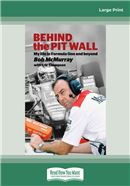 Cover Image: Behind the Pit Wall (Large Print)