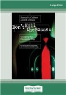 Cover Image: Don't Kill the Bosses! (Large Print)
