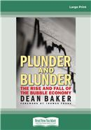 Cover Image: Plunder and Blunder (Large Print)