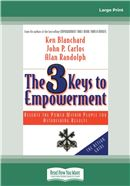 Cover Image: The 3 Keys to Empowerment (Large Print)
