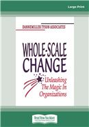 Cover Image: Whole-Scale Change (Large Print)