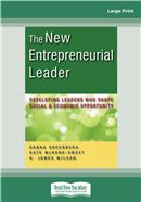 Cover Image: The New Entrepreneurial Leader (Large Print)