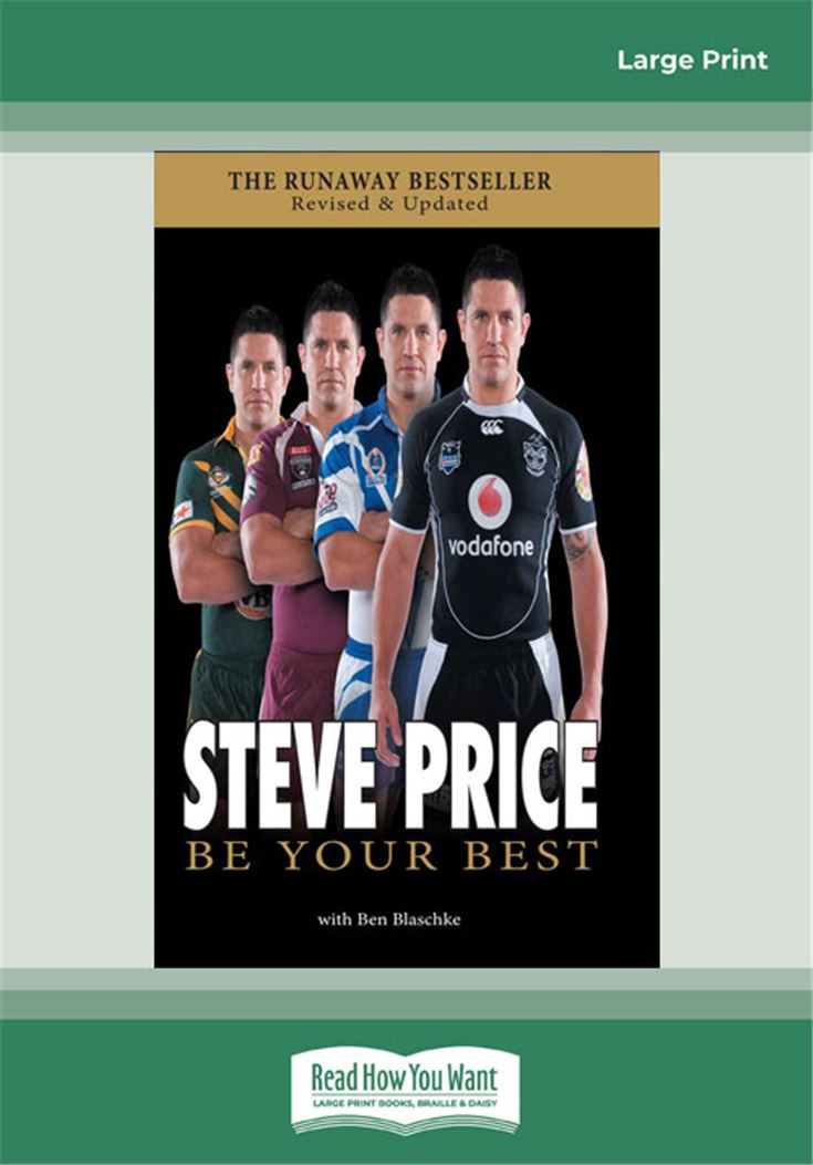 Steve Price - Be Your Best
