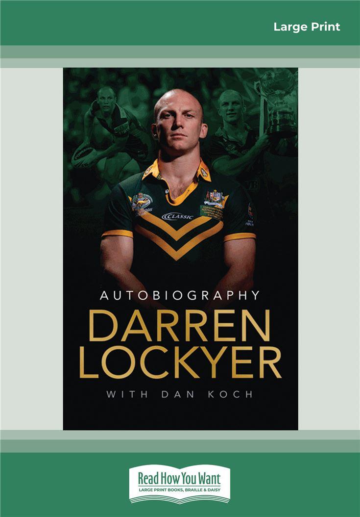 Darren Lockyer - Autobiography