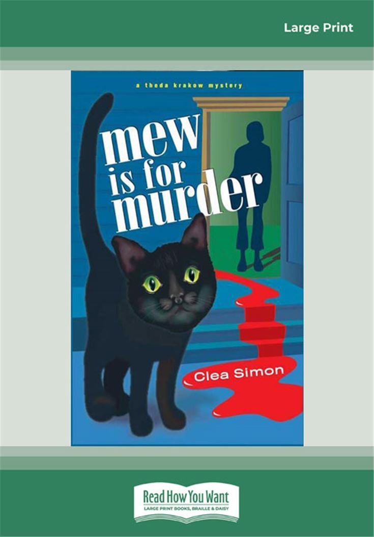 Mew is for Murder (Theda Krakow Mysteries, No. 1)