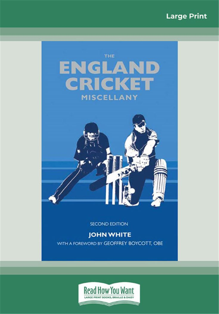 The England Cricket Miscellany