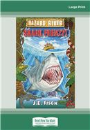 Cover Image: Shark Frenzy (Large Print)