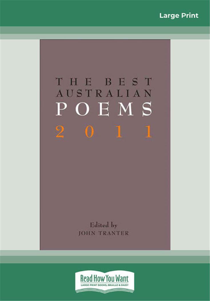 The Best Australian Poems 2011