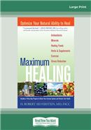 Cover Image: Maximum Healing (Large Print)