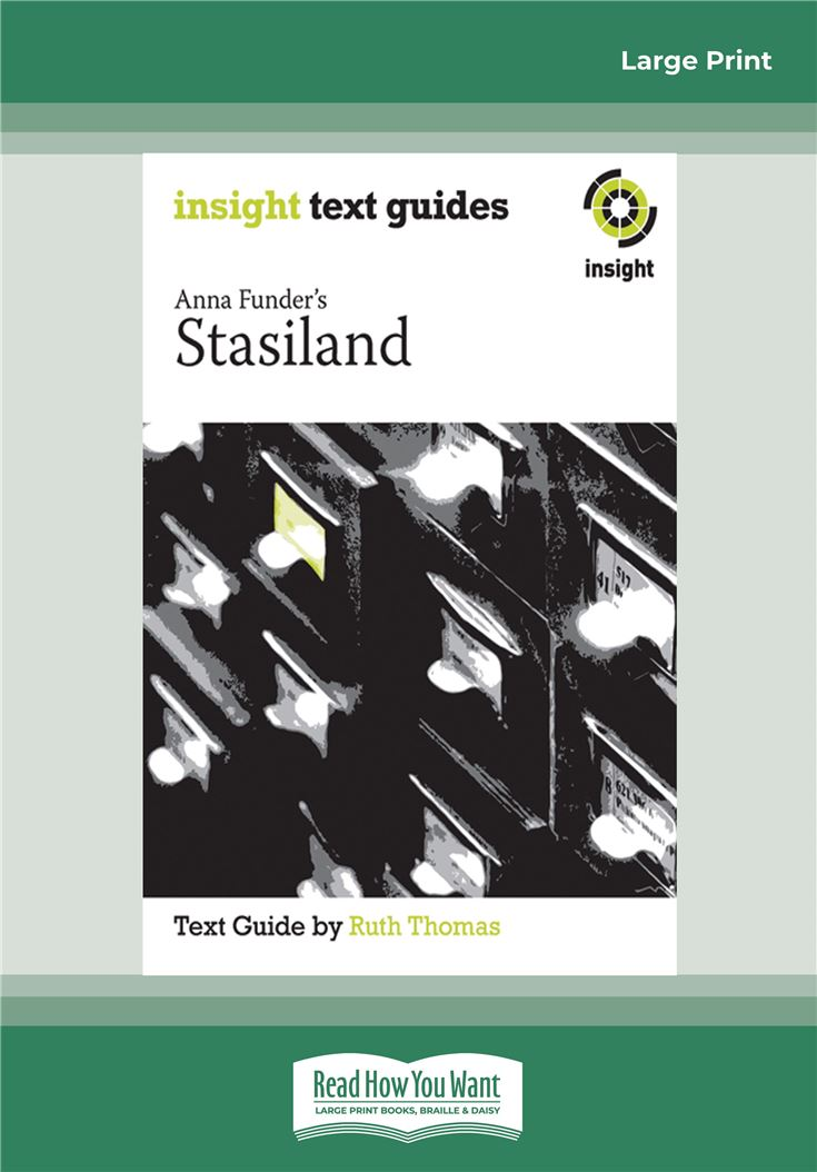 Anna Funder's Stasiland