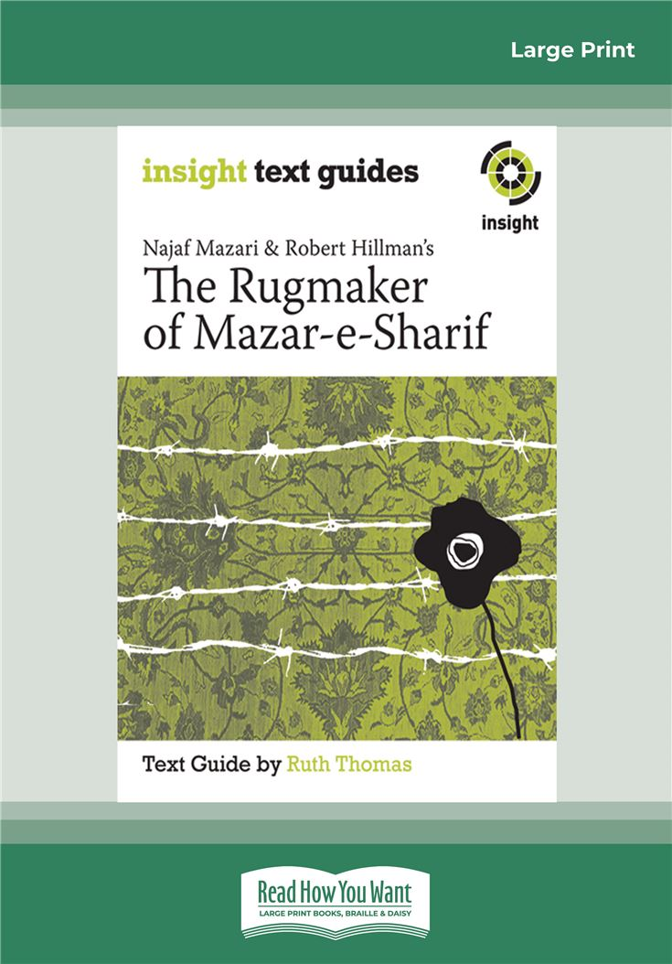 Najaf Mazari and Robert Hillman's The Rugmaker of Mazar-e-Sharif
