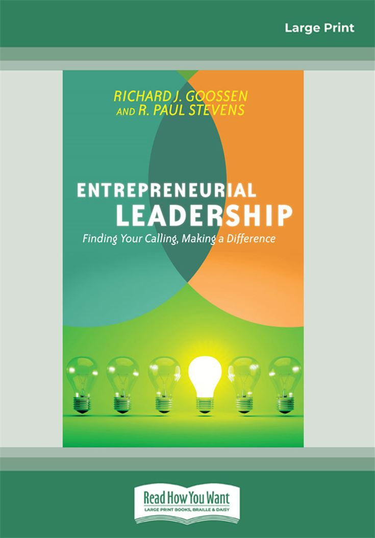 Entrepreneurial Leadership