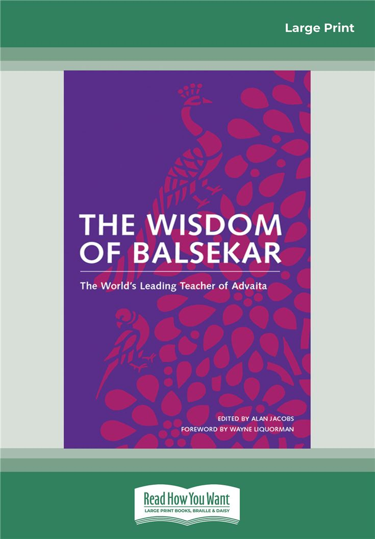 The Wisdom of Balsekar
