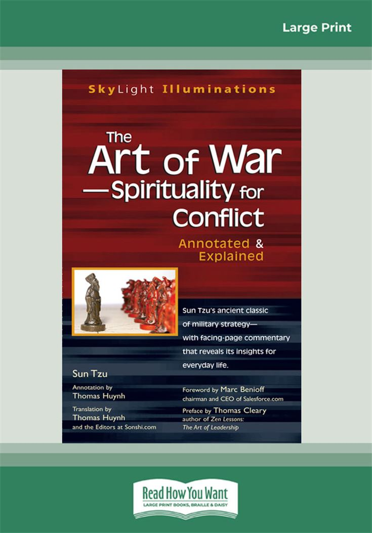 The Art of War—Spirituality for Conflict