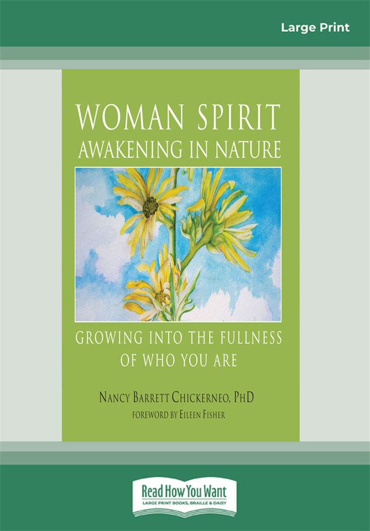 Woman Spirit Awakening in Nature